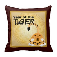 Year of the Tiger Pillow