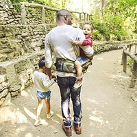 Camo TushBaby Hip Seat Carrier