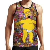 Homer Simpson Tank Top