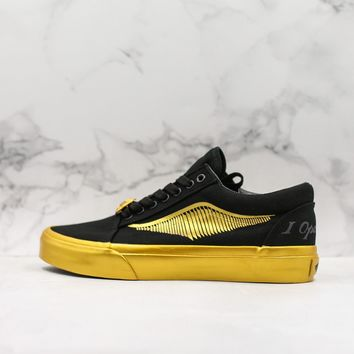 Harry Potter x Vans Old Skool 'I open at the close' Low-Top Sneaker - Best Deal Online