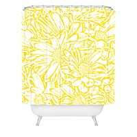 Lisa Argyropoulos Daisy Daisy In Golden Sunshine Shower Curtain