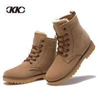 Winter Fashion shoes suede boots for men