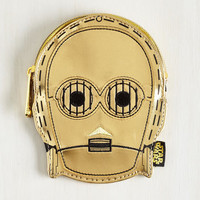 Quirky Be the Change Purse you Wish to C-3PO by ModCloth