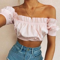 More Love Crop Top