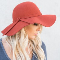 Fall Favorite Boho Hat (Rust)