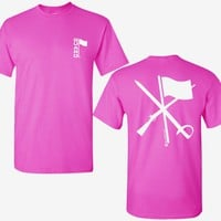 T Shirt for Color Guard or Winter Guard in Pink