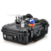 Waterproof Case e nail quartz nail V1 kit for water bongs coil heater electric nail 14mm/18mm Male Female Black Orange