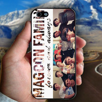 Magcon Family Collage Photos - Print on hard plastic case for iPhone case. Select an option
