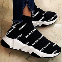 """""""Balen"""" hot sale classic socks shoes men and women casual sports shoes sneakers"""