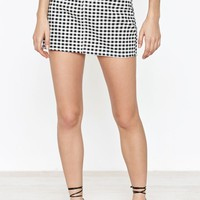 PacSun Gingham Skirt at PacSun.com
