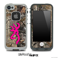 Hot Pink Camo V7 Browning Skin for the iPhone 4/4s by TheSkinDudes