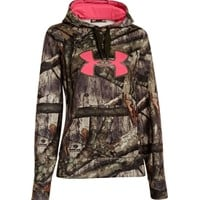 Under Armour Women's Camo Big Logo Hoodie