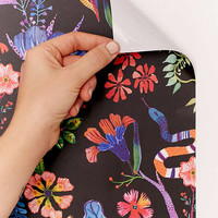 Whimsical Floral Removable Wallpaper | Urban Outfitters
