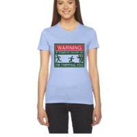 Warning Zombies - Women's Tee