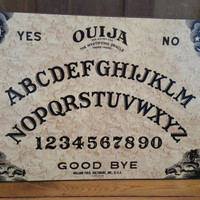 Vintage Ouija Board Great Creepy Halloween Mystical Occult Decor