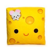 FREE SHIPPING Yummy Cheese Mini Decor Pillow by mymimi on Etsy