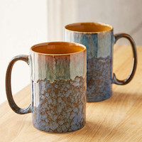 Speckled Slate Drip Mug - Urban Outfitters