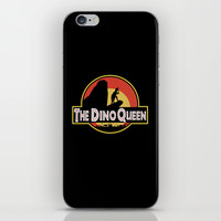 The Dino Queen iPhone & iPod Skin by Page394