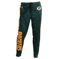 Men's Green Bay Packers NFL Tapered Zip Up Pants