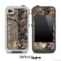The Bare Camouflage V2 Skin for the iPhone 4 or 5 LifeProof Case