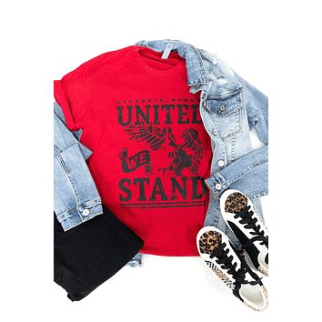 United We Stand Tee - Red