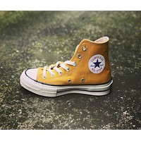 """""""Converse"""" Fashion Canvas Flats Sneakers Sport Shoes Yellow"""