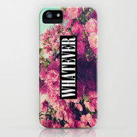 Pink Roses, Grunge And Whatever iPhone & iPod Case by hyakume