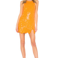 X by NBD Misha Dress in Pink Tangerine | REVOLVE