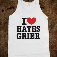 I HEART LOVE HAYES GRIER T-SHIRT (IDC810237)