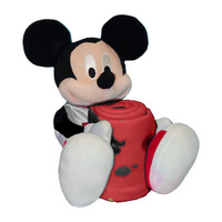Chicago Bulls NBA Mickey Mouse with Throw Combo