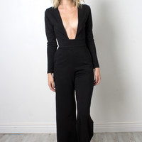 Twin Sister Deep V Jumpsuit
