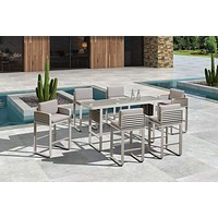 Outdoor Bar Set (6 Chairs) | Higold Airport