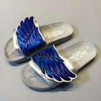 ADIDAS Fashion 3D Wing Slipper Sandals Shoes