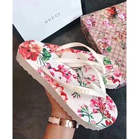【GUCCI】Fashion Casual Flip Flops Slipper Sandals Shoes