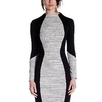 Sen Collection Muriel Long Sleeve Turtleneck Dress | Knee Length Dress