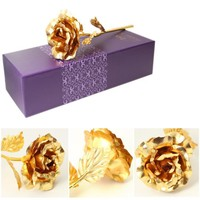Gold Plated Forever Rose