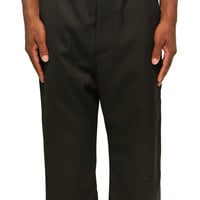 Second/Layer tapered Trouser-Black