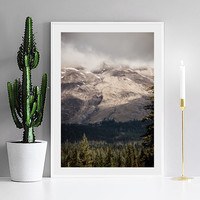 Sky Mountain Cuadros Nordic Decoration Posters And Prints Wall Art Canvas Painting Wall Pictures For Living Room No Poster Frame