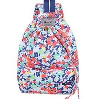 Roxy Girls' Pinch It Up Floral Backpack (Kid) at SwimOutlet.com