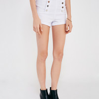 Almost Famous™ High-Rise Sailor Shorts | Wet Seal