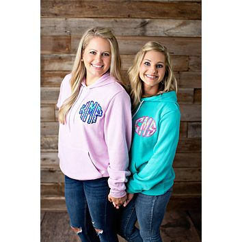 Lilly Pulitzer Monogrammed Hoodie - 2020