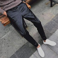 Mens Motorcycle Leather Pants