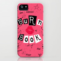 Burn Book iPhone & iPod Case by Pink Berry Pattern