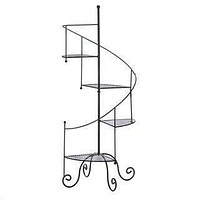 Modern Living Room Decor Spiral Showcase Plant Stand