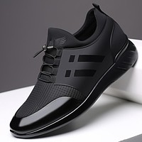 XPAY 2020 Men's Sneakers Quality 6CM Increasing British Shoes New Breathable Summer Casual Sneakers Big Size Office Shoes Men