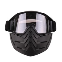 Vintage Women's Men's Ski Goggles Snowboard Snow Motorcycle Goggles Mask Snow Winter Ski Windproof Ski Glasses Motocross Sunglas