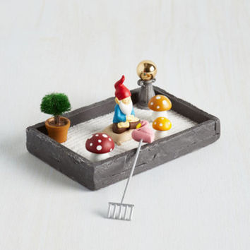 Quirky The More You Gnome Zen Garden by One Hundred 80 Degrees from ModCloth