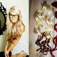 Valentine Sale Reverse Ombre Hair Extensions Two by Cloud9Jewels