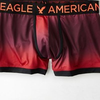 AEO Men's Ombre Classic Length Performance Trunk (Wineberry)