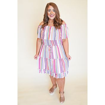 Party In Paradise Dress  +